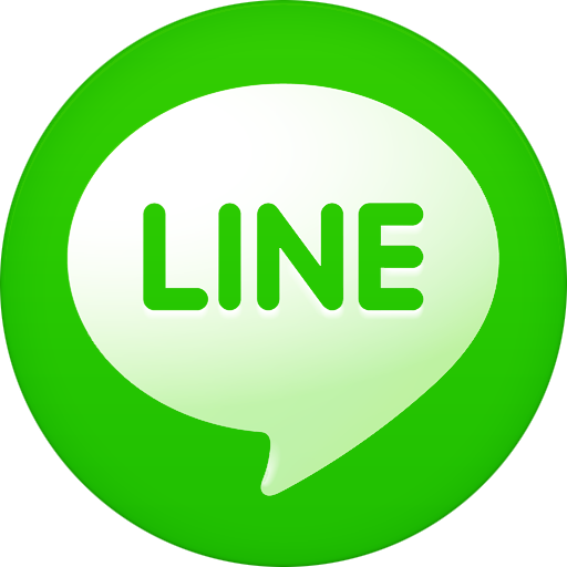 Chat with us via Line